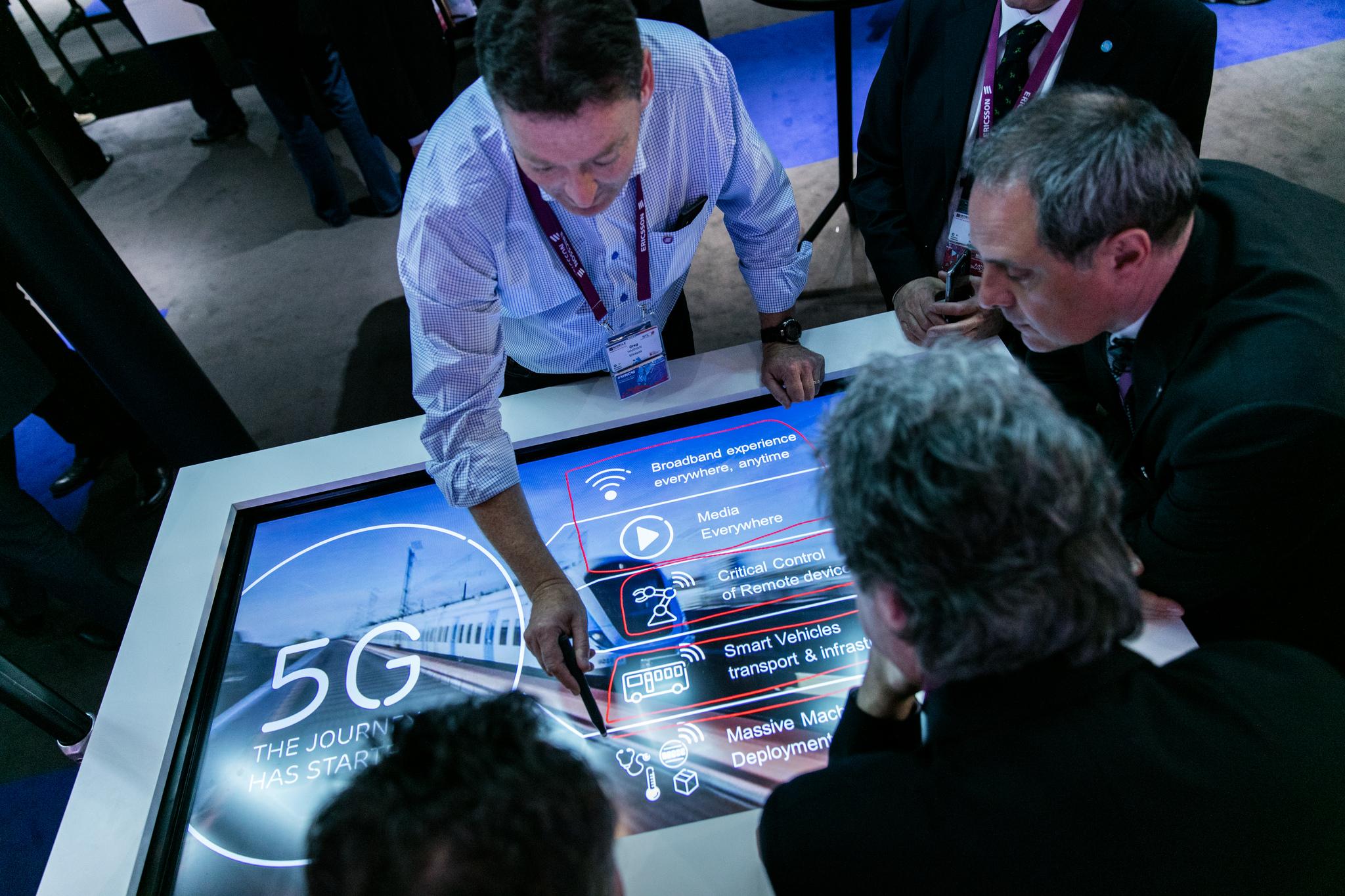 Mobile World Congress Ericsson both