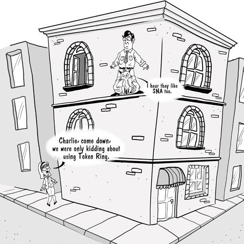 Token Ring cartoon