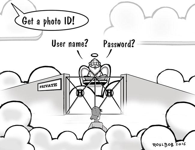 Private Cloud cartoon