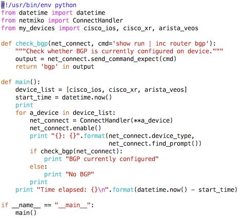 Network Automation Using Python: BGP Configuration | IT