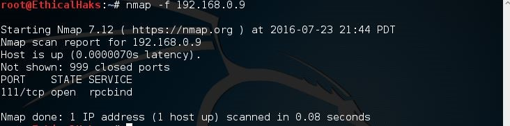 Nmap Tutorial: Common Commands | IT Infrastructure Advice