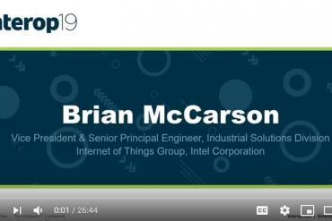 Interop19 Keynote Brian McCarson Intel