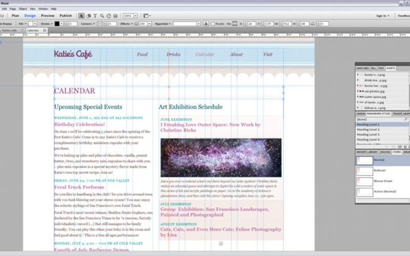 Adobe Muse: Web Authoring For Designers | IT Infrastructure
